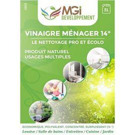 Vinaigre 14° Surpuissant Professionnel - Utilisation En Désinfectant Et Nettoyage - Bidon 10 Litres